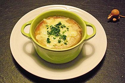 Feine Zwiebelsuppe