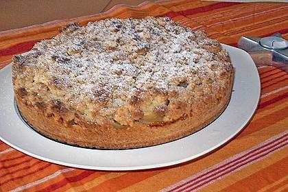 Apfel - Krümmelkuchen 12