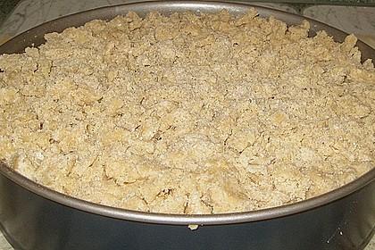 Apfel - Krümmelkuchen 5