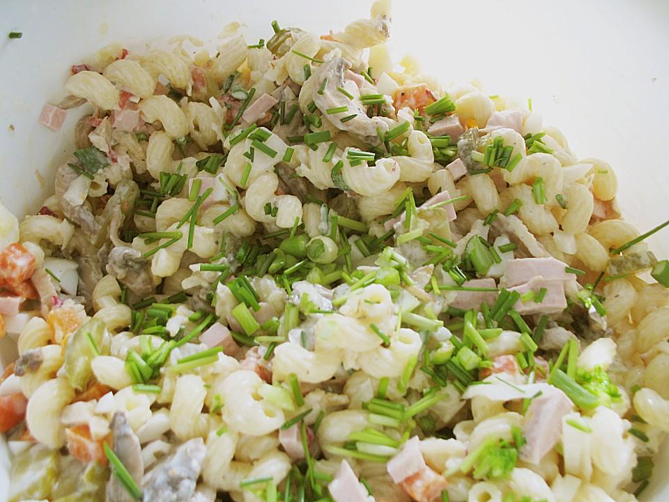 schneller nudelsalat rezept mit bild von bienemaya