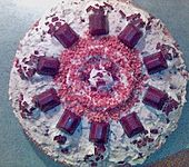 Ferrero - Küsschen Torte (Bild)
