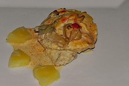 Schnitzel - Ananas - Auflauf