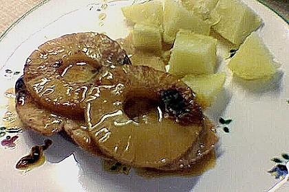 Schnitzel - Ananas - Auflauf 2