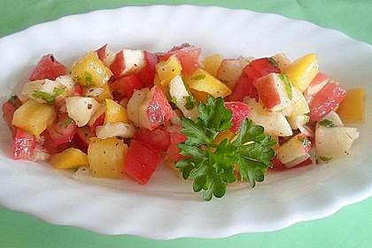 Erfrischender Tomatensalat nach Mariannes Art (Bild)