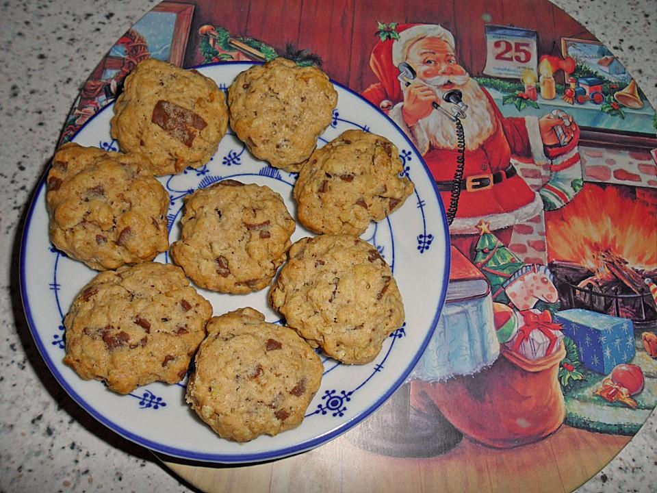 kekse rezepte mit haferflocken kekse weihnachten. Black Bedroom Furniture Sets. Home Design Ideas
