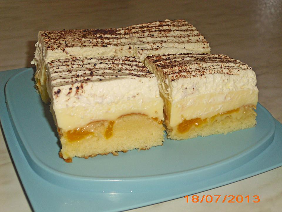 Kuchen rezepte pudding obst