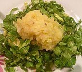 Oliven - Kartoffelstampf mit Endiviensalat