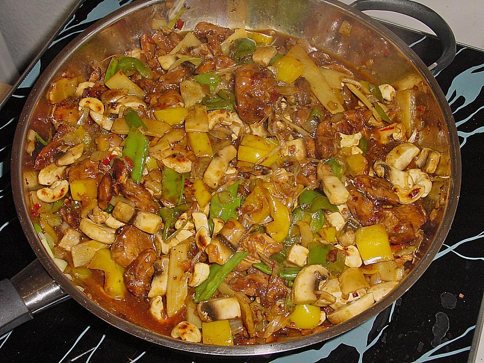 Kung Pao Chicken (Rezept mit Bild) von domspitzen | Chefkoch.de
