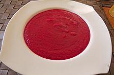 Rote Kartoffelsuppe