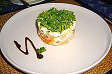 Russischer Thunfischsalat bzw. Schichtsalat