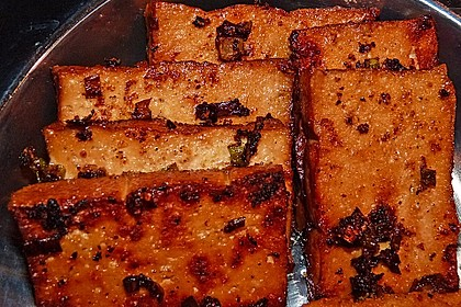 Marinierter Tofu 4