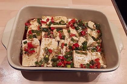 Marinierter Tofu 3