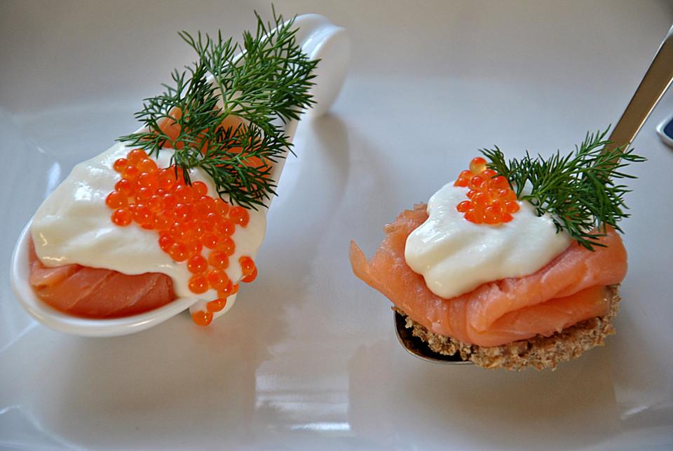 lachs mit meerrettichcreme und garnitur (rezept mit bild ... - Gruß Aus Der Küche Rezepte