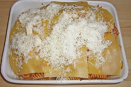 Pasta mit scharfer Tomatensoße 2