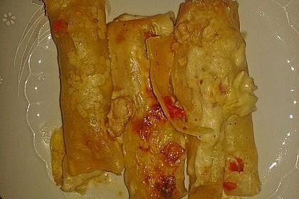 Cannelloni mit Hähnchen