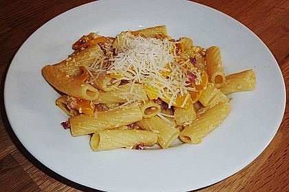 Spaghetti mit Zucchini – Carbonara 20