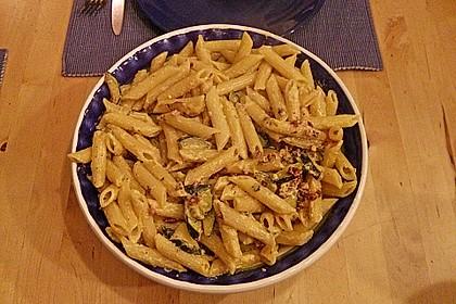 Spaghetti mit Zucchini – Carbonara 24