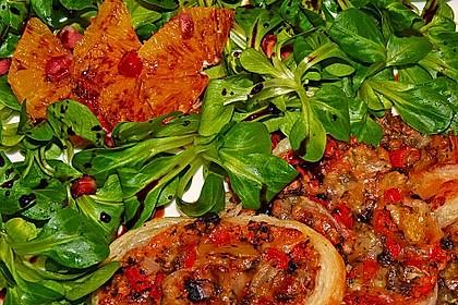 Farbenfreudiger Granatapfel - Orangen - Feldsalat 8