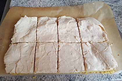 Baiser - Torte mit Himbeer - oder Brombeercreme 20