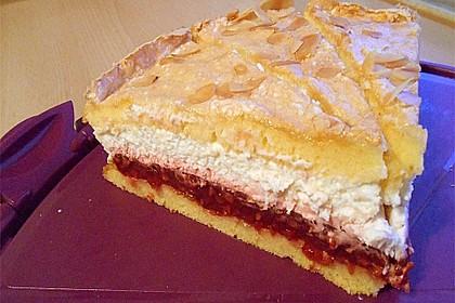 Baiser - Torte mit Himbeer - oder Brombeercreme 33