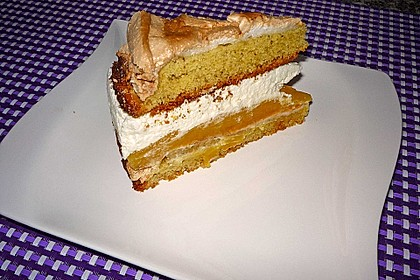 Baiser - Torte mit Himbeer - oder Brombeercreme 26