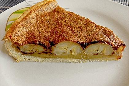 Schoko - Bananen - Tarte