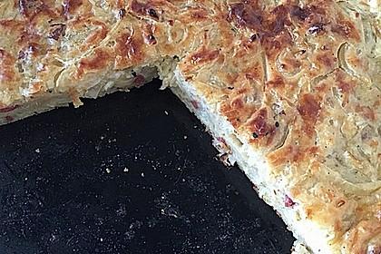 Zwiebelkuchen ohne Boden - einfach und lecker 12