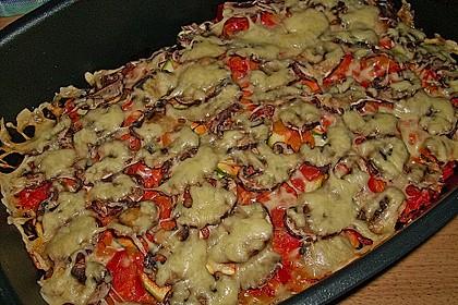 Mediterraner Kartoffel - Hackfleisch - Auflauf 1