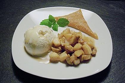 Apfel - Cremelikör - Dessert