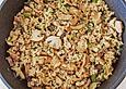 Gebratener Reis mit Hähnchen und Sherry