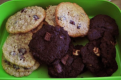 Chocolate Cookies á la Bondi American Style