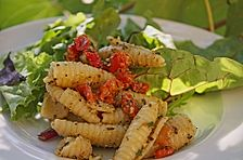 Nudelsalat mit Paprika