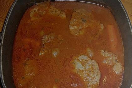 Omas  Fleisch aus der Kachel 34