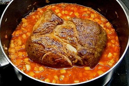 Omas  Fleisch aus der Kachel 23