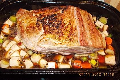 Omas  Fleisch aus der Kachel 14
