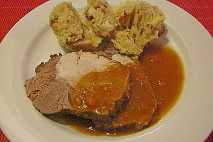 Omas  Fleisch aus der Kachel 30