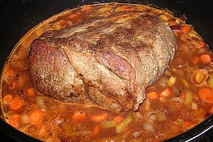 Omas  Fleisch aus der Kachel 9