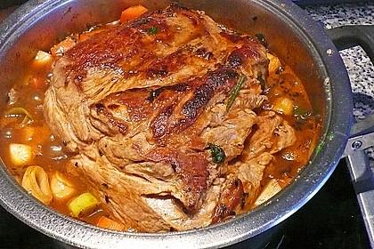 Omas  Fleisch aus der Kachel 6