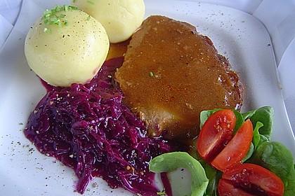Omas  Fleisch aus der Kachel 3