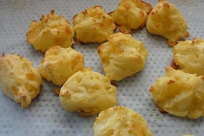 Käsebrötchen mit Tapiokamehl