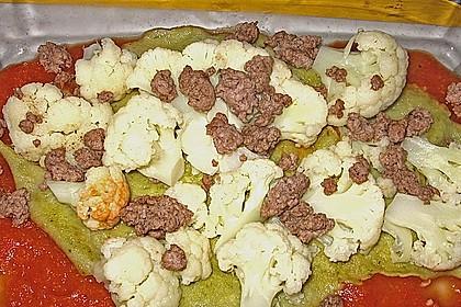 Illes leichte Blumenkohl - Lasagne mit selbstgemachter Pasta 7