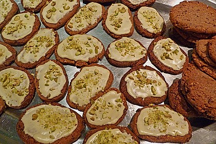 Kekse - ' Butterbrote mit Schnittlauch ' 3