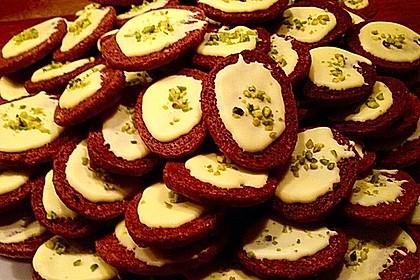 Kekse - ' Butterbrote mit Schnittlauch ' 2
