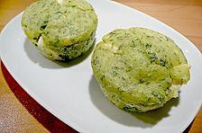 Spinat - Feta - Muffins