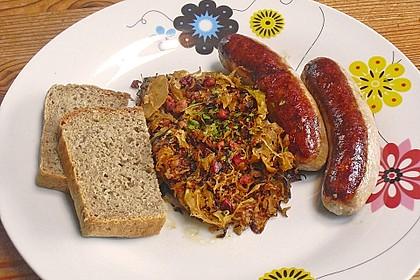 Gebratenes Sauerkraut 2