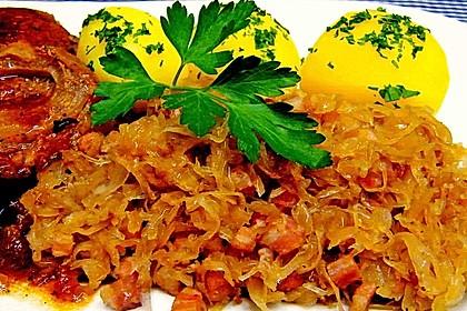 Gebratenes Sauerkraut 0