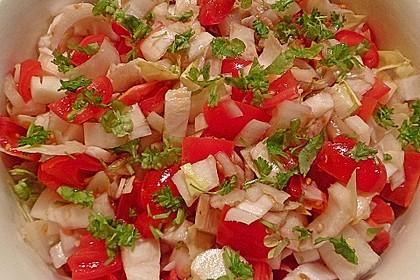 Chicoree - Tomaten - Salat 4