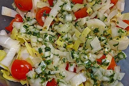Chicoree - Tomaten - Salat 1