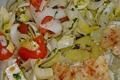 Chicoree - Tomaten - Salat 2