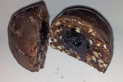 Schoko - Marzipan - Plätzchen 1